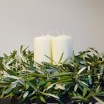 Adventskranz - Olive