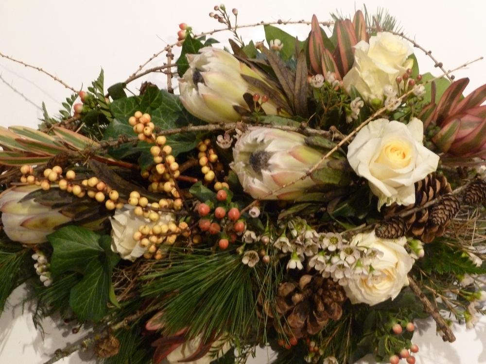 winterliches Bouquet